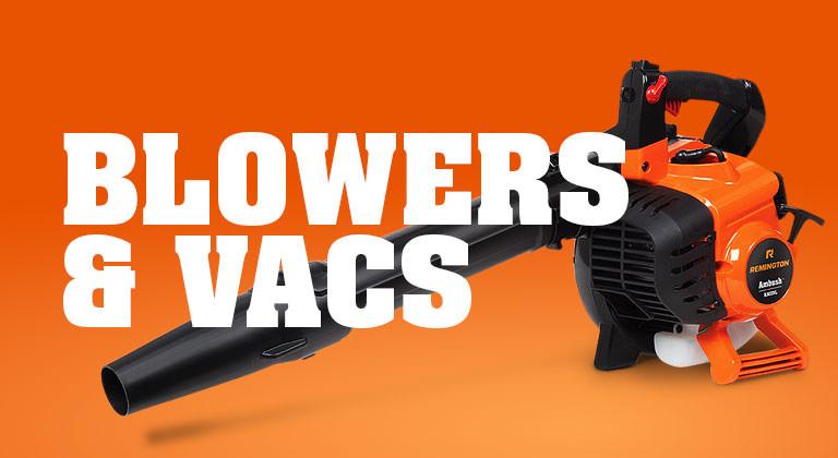 gas blower vac
